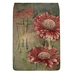 Flowers Plant Red Drawing Art Flap Covers (l)