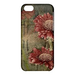 Flowers Plant Red Drawing Art Apple Iphone 5c Hardshell Case