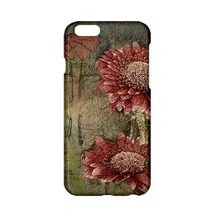 Flowers Plant Red Drawing Art Apple Iphone 6/6s Hardshell Case