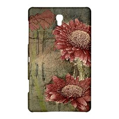 Flowers Plant Red Drawing Art Samsung Galaxy Tab S (8.4 ) Hardshell Case