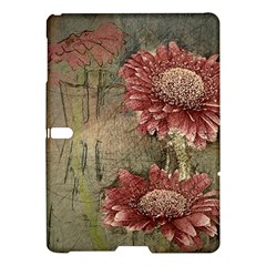 Flowers Plant Red Drawing Art Samsung Galaxy Tab S (10.5 ) Hardshell Case