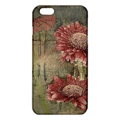 Flowers Plant Red Drawing Art Iphone 6 Plus/6s Plus Tpu Case