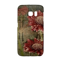 Flowers Plant Red Drawing Art Galaxy S6 Edge