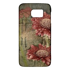 Flowers Plant Red Drawing Art Galaxy S6