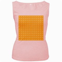 Pattern Background Texture Women s Pink Tank Top