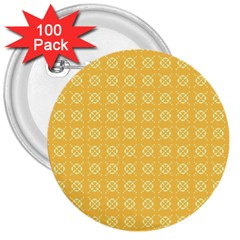 Pattern Background Texture 3  Buttons (100 Pack)
