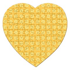 Pattern Background Texture Jigsaw Puzzle (Heart)