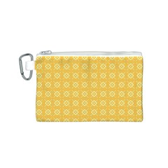 Pattern Background Texture Canvas Cosmetic Bag (s)