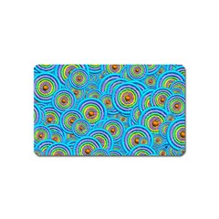 Digital Art Circle About Colorful Magnet (name Card)