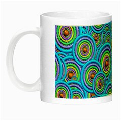 Digital Art Circle About Colorful Night Luminous Mugs