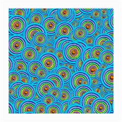 Digital Art Circle About Colorful Medium Glasses Cloth (2 Side)