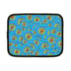 Digital Art Circle About Colorful Netbook Case (small)