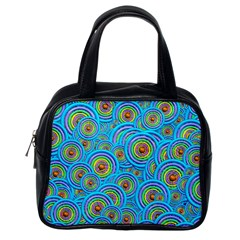 Digital Art Circle About Colorful Classic Handbags (One Side)