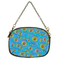 Digital Art Circle About Colorful Chain Purses (one Side)