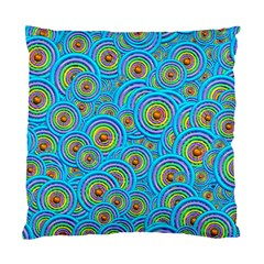Digital Art Circle About Colorful Standard Cushion Case (one Side)