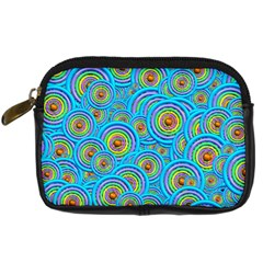 Digital Art Circle About Colorful Digital Camera Cases