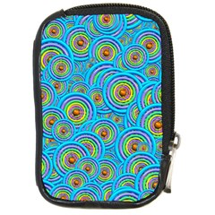 Digital Art Circle About Colorful Compact Camera Cases