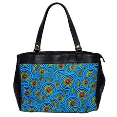 Digital Art Circle About Colorful Office Handbags