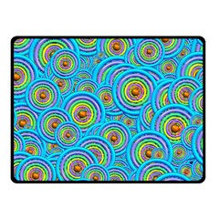 Digital Art Circle About Colorful Fleece Blanket (Small)