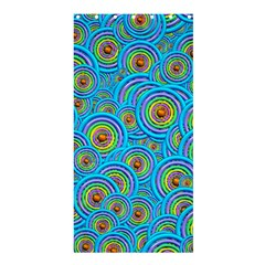 Digital Art Circle About Colorful Shower Curtain 36  X 72  (stall)