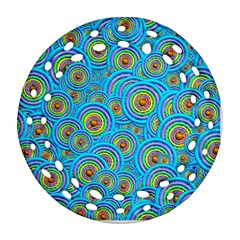 Digital Art Circle About Colorful Ornament (round Filigree)