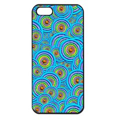 Digital Art Circle About Colorful Apple Iphone 5 Seamless Case (black)