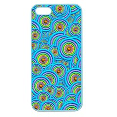 Digital Art Circle About Colorful Apple Seamless iPhone 5 Case (Color)