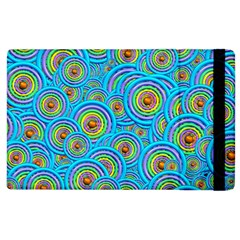 Digital Art Circle About Colorful Apple Ipad 3/4 Flip Case