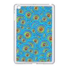 Digital Art Circle About Colorful Apple Ipad Mini Case (white)