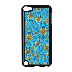 Digital Art Circle About Colorful Apple iPod Touch 5 Case (Black)