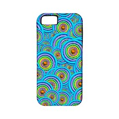 Digital Art Circle About Colorful Apple Iphone 5 Classic Hardshell Case (pc+silicone)