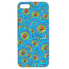 Digital Art Circle About Colorful Apple Iphone 5 Hardshell Case With Stand