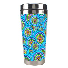 Digital Art Circle About Colorful Stainless Steel Travel Tumblers