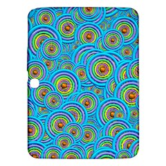 Digital Art Circle About Colorful Samsung Galaxy Tab 3 (10 1 ) P5200 Hardshell Case