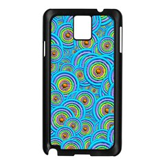 Digital Art Circle About Colorful Samsung Galaxy Note 3 N9005 Case (Black)