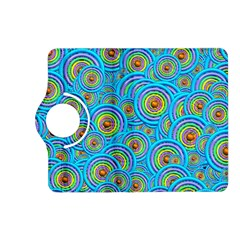 Digital Art Circle About Colorful Kindle Fire HD (2013) Flip 360 Case