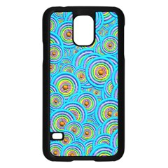 Digital Art Circle About Colorful Samsung Galaxy S5 Case (Black)