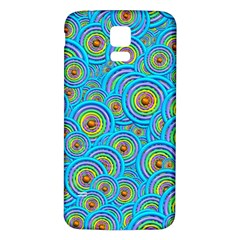 Digital Art Circle About Colorful Samsung Galaxy S5 Back Case (white)