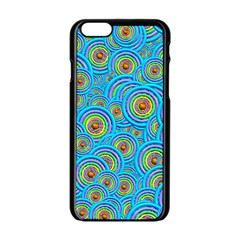 Digital Art Circle About Colorful Apple Iphone 6/6s Black Enamel Case