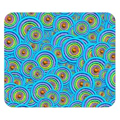 Digital Art Circle About Colorful Double Sided Flano Blanket (small)