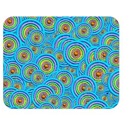 Digital Art Circle About Colorful Double Sided Flano Blanket (Medium)