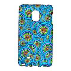 Digital Art Circle About Colorful Galaxy Note Edge