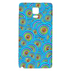 Digital Art Circle About Colorful Galaxy Note 4 Back Case