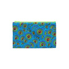 Digital Art Circle About Colorful Cosmetic Bag (xs)