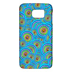 Digital Art Circle About Colorful Galaxy S6