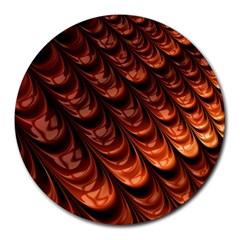 Fractal Mathematics Frax Round Mousepads