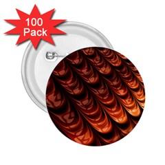 Fractal Mathematics Frax 2 25  Buttons (100 Pack)