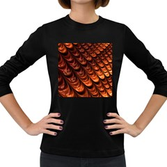 Fractal Mathematics Frax Women s Long Sleeve Dark T-Shirts