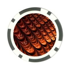 Fractal Mathematics Frax Poker Chip Card Guard