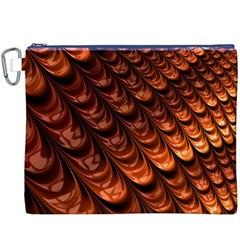 Fractal Mathematics Frax Canvas Cosmetic Bag (xxxl)
